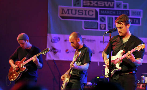 The Cold War Kids, from Los Angeles, CA, perform at Stubb's during South by Southwest Friday March 15, 2013 in Austin, TX. Photo: Edward A. Ornelas, Edward A. Ornelas/Express-News / © 2013 San Antonio Express-News