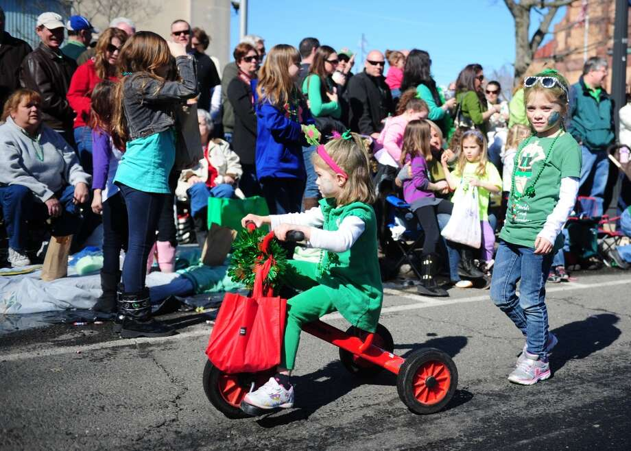 No. 4: Milford. The city of Milford has the fourth largest percentage of resident claiming an Irish ancestry in Southwestern Connecticut, at 25.8 percent. The annual St. Patrick's Day Parade moves through downtown Milford, Conn. Saturday, Mar. 9, 2013.