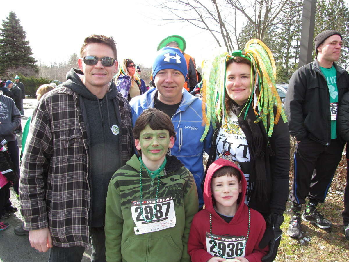 Were you Seen at the second annual St. Patrick's Day Kilt Run at Uncle Marty's Grill in Averill Park on Saturday, March 16, 2013?
