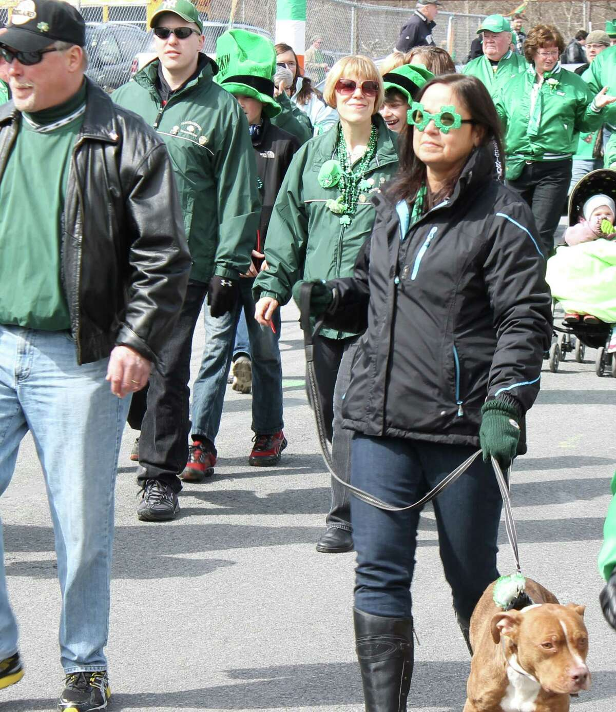 Were you Seen at the North Albany St. Patrick's Day Parade, sponsored by the North Albany Limericks, on Saturday, March 16, 2013?