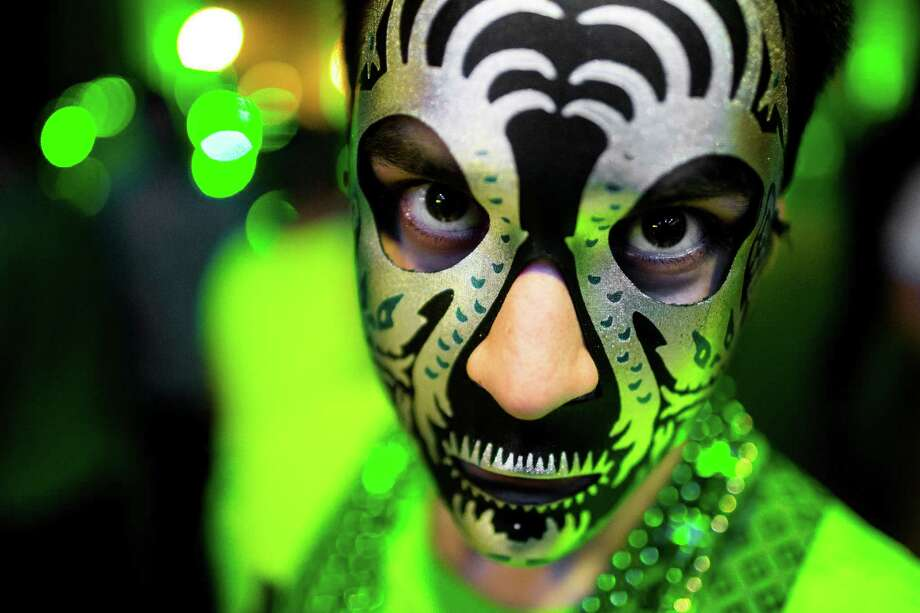Tens of thousands of glittery, green-clad attendees flocked to Lucky 2013. Photo: JORDAN STEAD / SEATTLEPI.COM