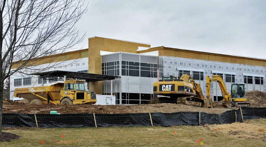 New Community Care building begins to take shape in North Greenbush Friday March, 15, 2013.   (John Carl D'Annibale / Times Union) Photo: John Carl D'Annibale