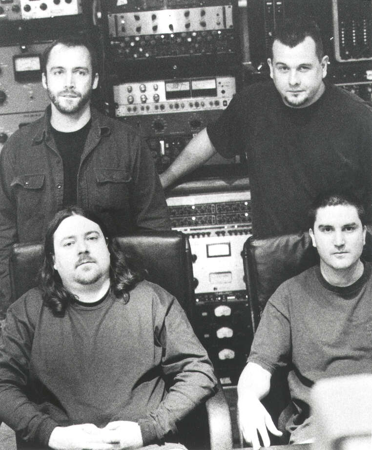 Clutch (band, clockwise from top left): Neil Fallon, Jean-Paul Gaster, Dan Maines and Tim Sult Photo: SCOTT EVANS, ATLANTIC RECORDS / HANDOUT