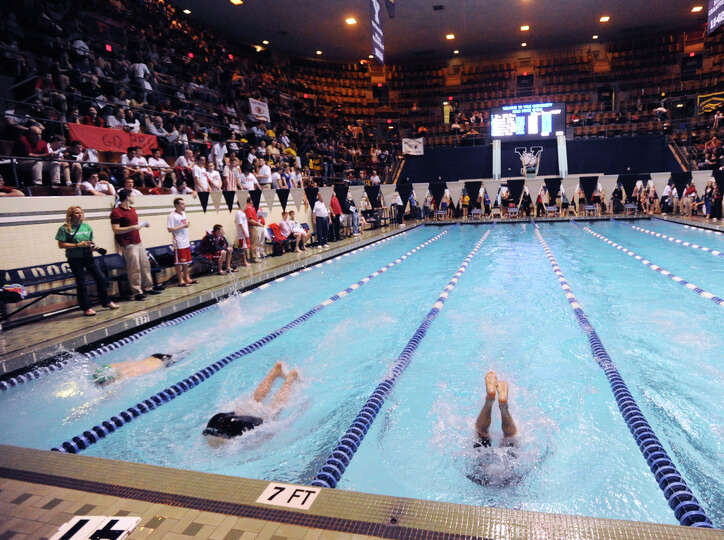 State Open swimming championships at Yale University, New Haven, Conn., Saturday, March 16, 2013.