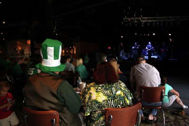 Luck 'O' Irish Music Fest at Sam's Burger Joint on Saturday, March 16, 2013. Photo: Xelina Flores-Chasnoff, MySA.com