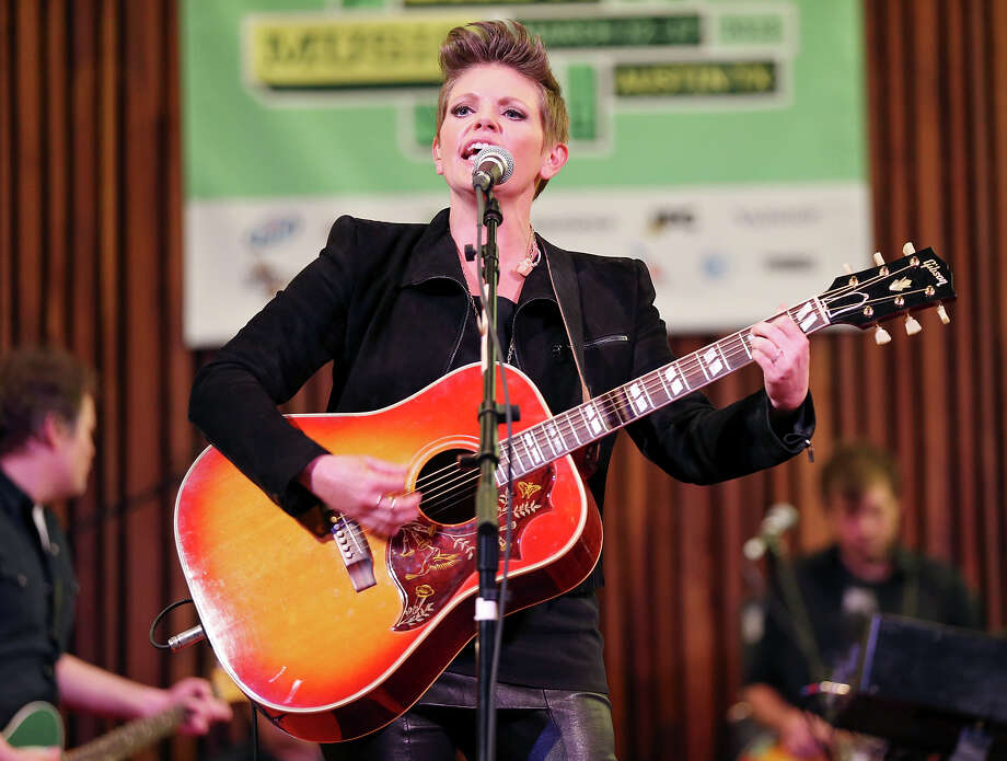Natalie Maines, performs at the Central Presbyterian Church during South by Southwest Saturday March 16, 2013 in Austin, TX. Photo: Edward A. Ornelas, Edward A. Ornelas / San Antonio Express-News / © 2013 San Antonio Express-News