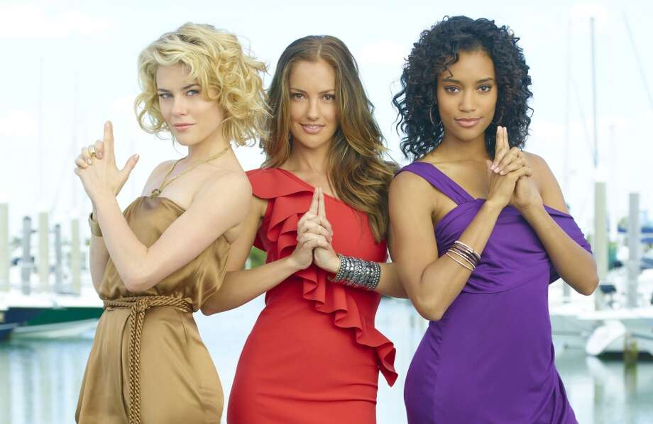 After FNL, Minka Kelly, center,  starred in the remake of ''Charlie's Angels'' in 2011.
