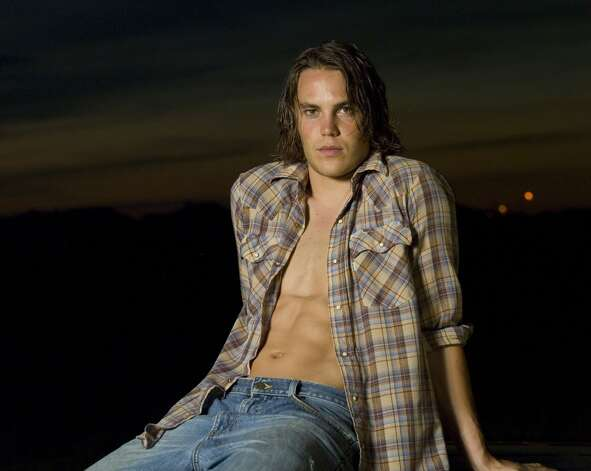 Here's Taylor Kitsch as ''Tim Riggins,'' a troubled hunk with the heart of gold. A former model, Kitsch was poised to become a movie star in 2012.