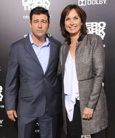 Kyle Chandler and wife Kathryn Chandler at the 2012 premiere of ''Zero Dark Thirty.''