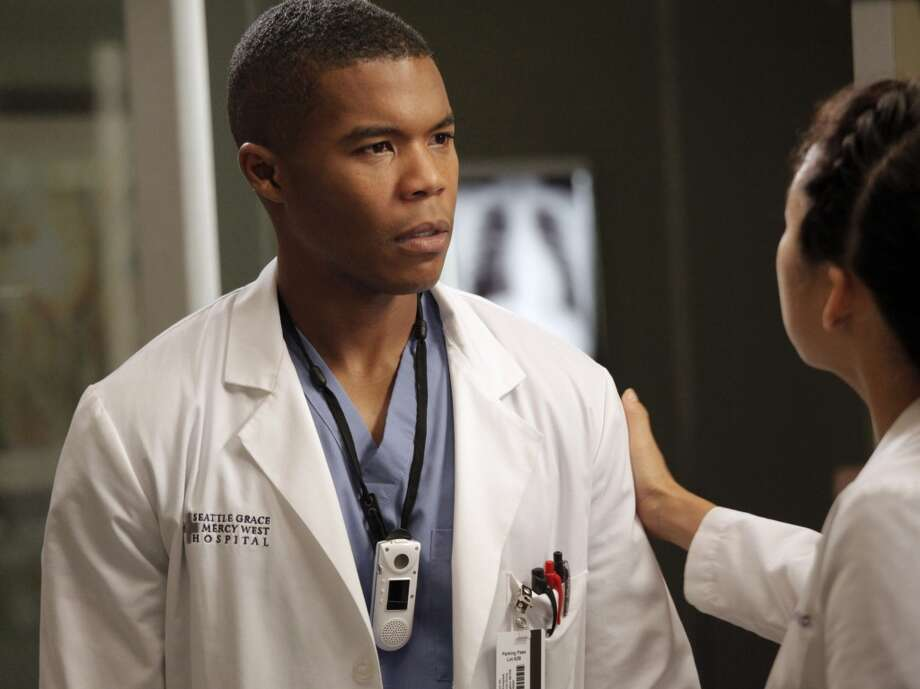 It's Gaius Charles as Dr. Shane Ross on ''Grey's Anatomy.''