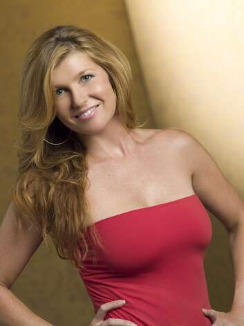 Here's a ''Friday Night Lights'' promo portrait of Connie Britton, but that tube top doesn't look like something high school principal Tami Taylor would ever wear.