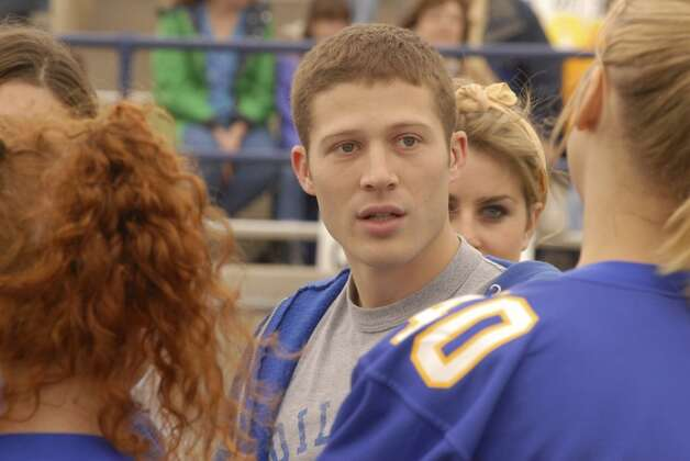 Zach Gilford played nice-guy quarterback Matt Saracen.