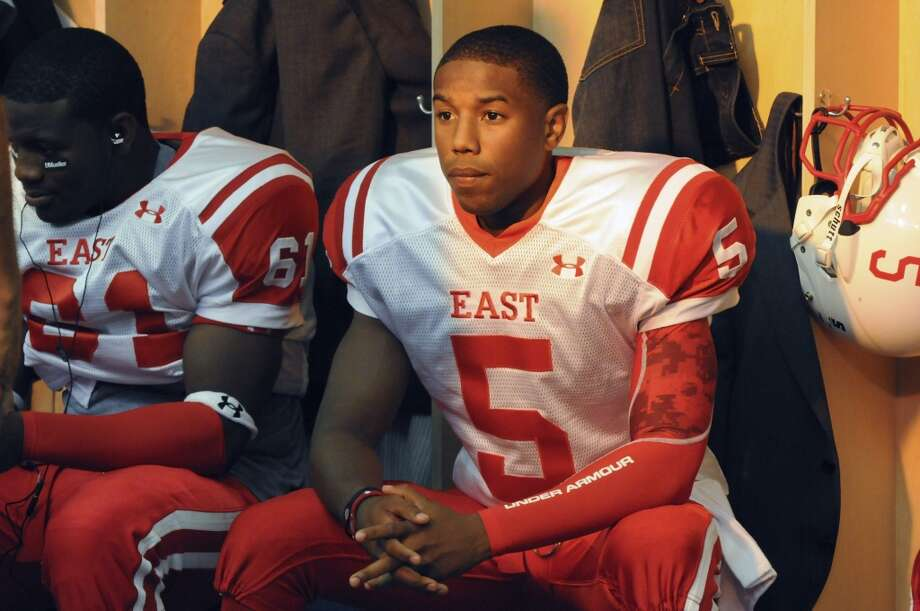 Michael B. Jordanplayed talented (but troubled, of course) quarterback Vince Howard. TV fans might remember Jordan as the teenage drug dealer Wallace on ''The Wire.''