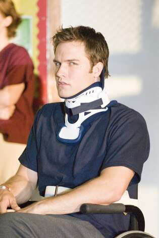 Scott Porter played crippled quarterback Jason Street.