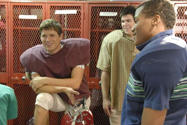 Matt Lauria (left) was nice, bland guy Luke Cafferty.