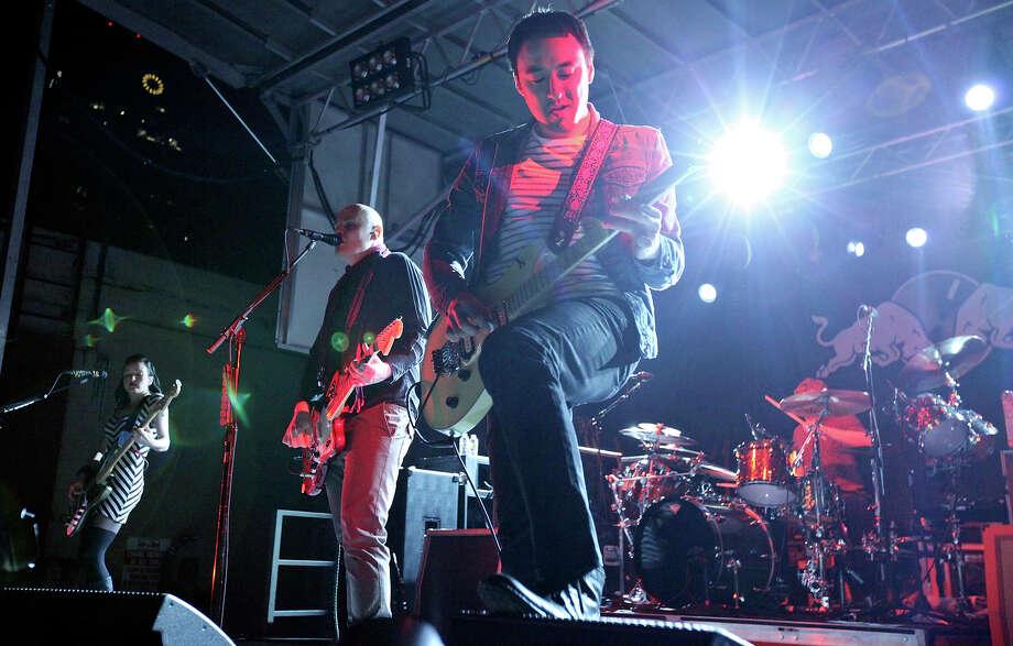 The Smashing Pumpkins perform during South by Southwest Sunday March 17, 2013 in Austin, TX. Photo: Edward A. Ornelas, Edward A. Ornelas, San Antonio Express-News / © 2013 San Antonio Express-News