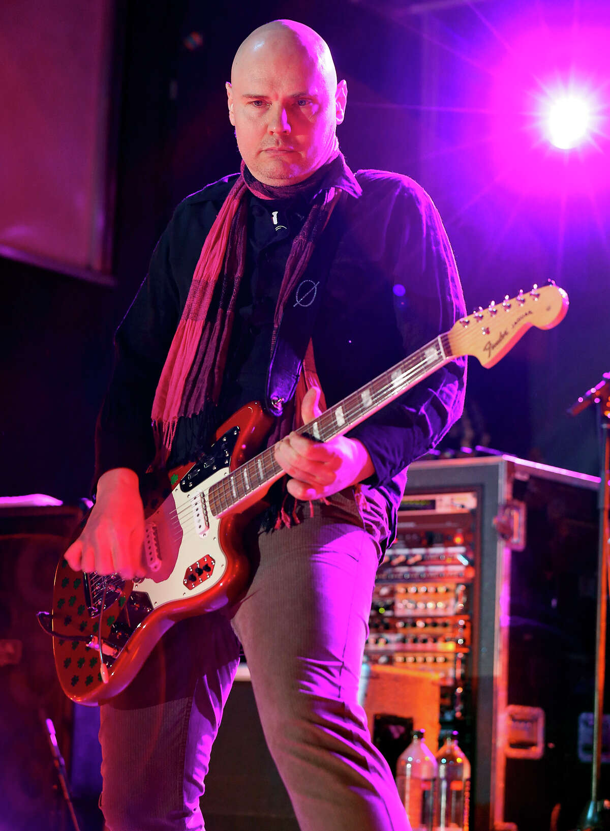 The Smashing Pumpkins' Billy Corgan performs with the band during South by Southwest Sunday March 17, 2013 in Austin, TX.