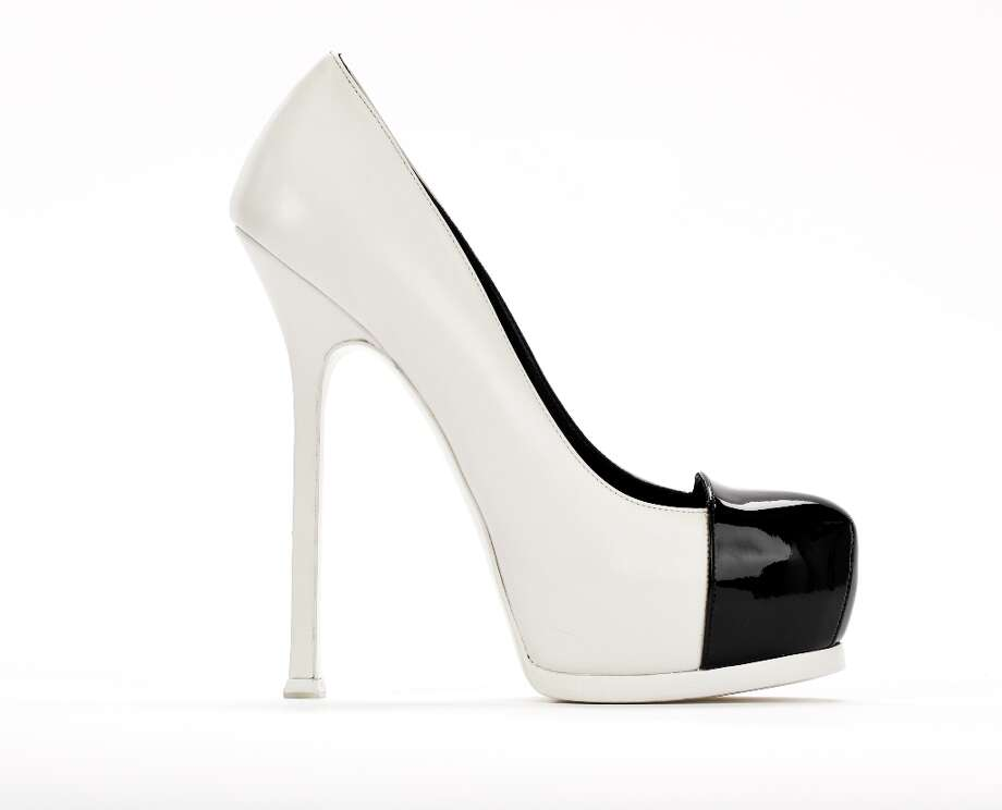 Yves Saint Laurent Pump, Saks, $795 Photo: Russell Yip, The Chronicle / ONLINE_YES