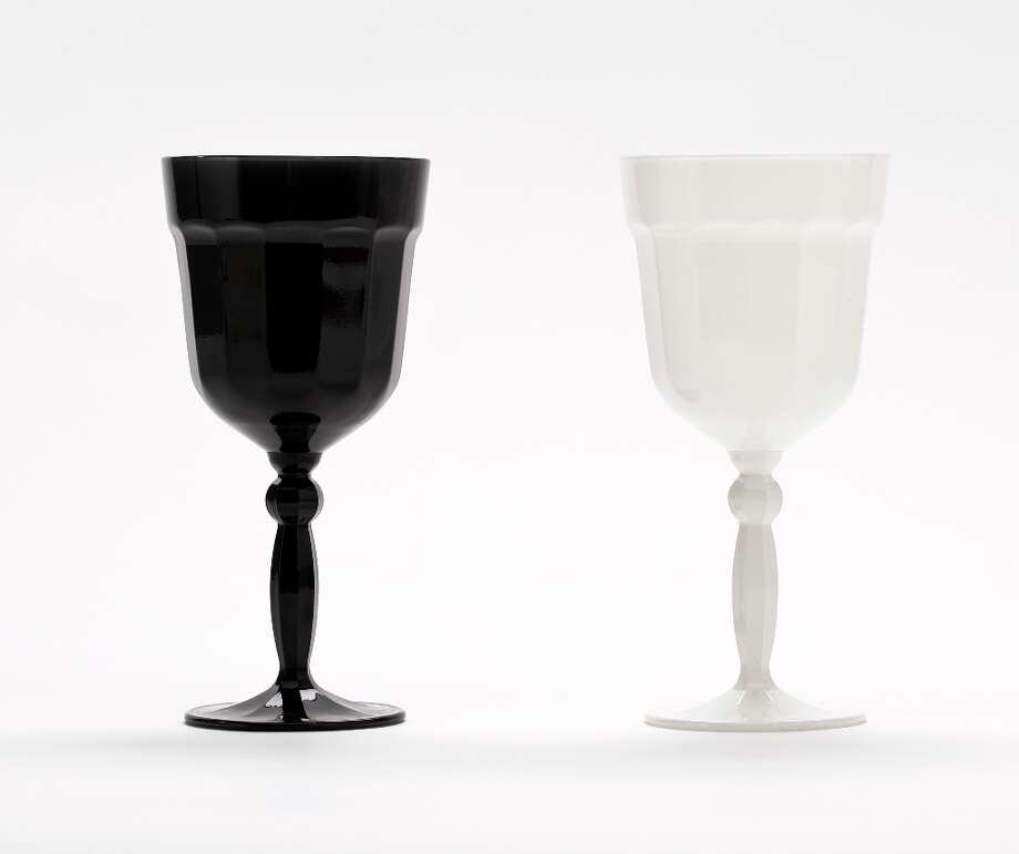 Watts Contemporaries Goblets, Eden & Eden, $32 each Photo: Russell Yip, The Chronicle / ONLINE_YES