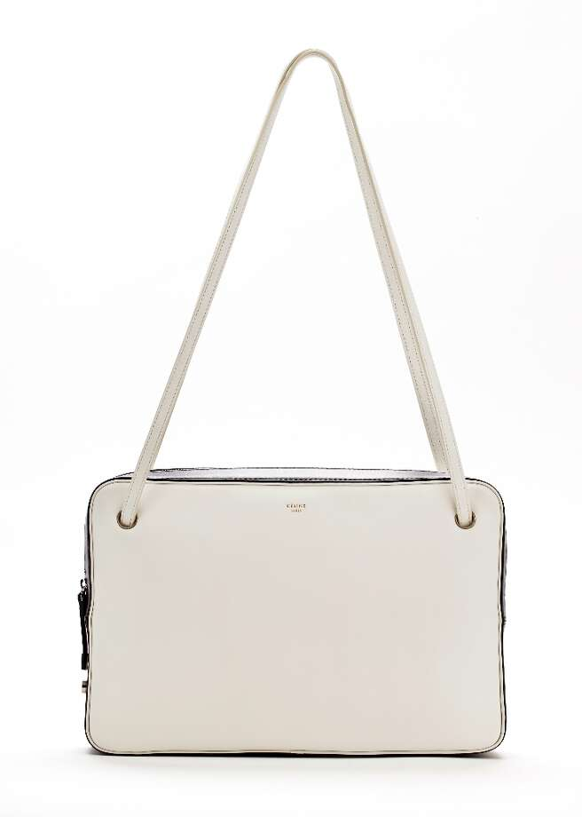 Celine shoulder bag, Saks, $2,050. Photo: Russell Yip, The Chronicle / ONLINE_YES