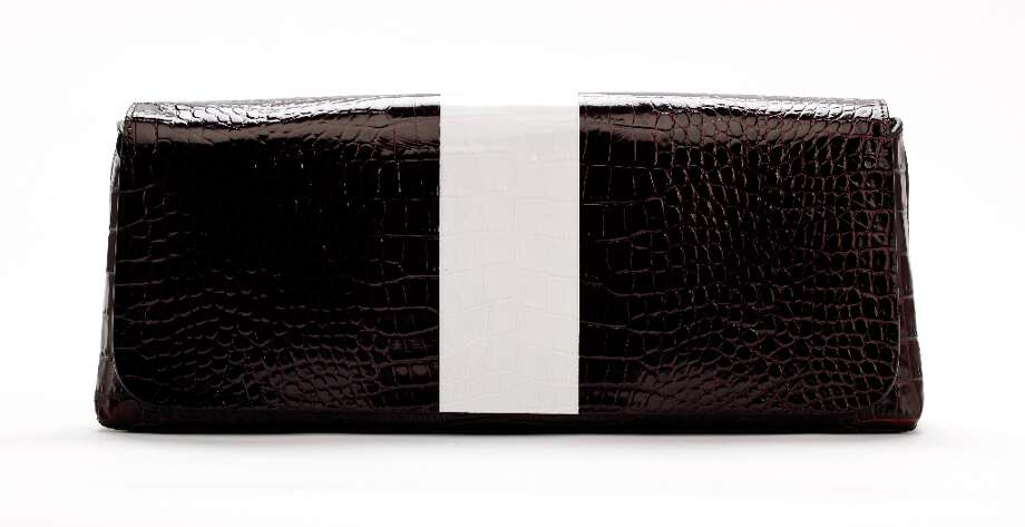 Dries Van Noten clutch, Saks Fifth Avenue, $845 Photo: Russell Yip, The Chronicle / ONLINE_YES
