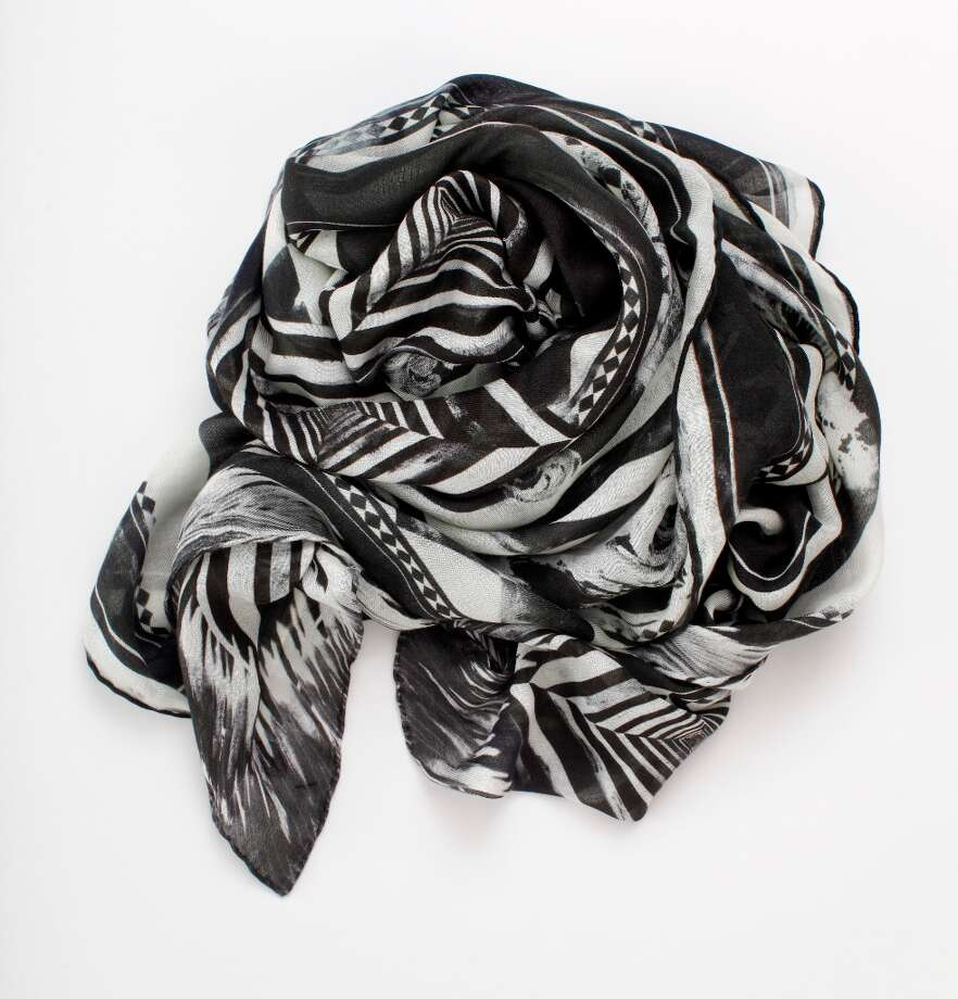 Balmain Scarf, Curve (2360 Fillmore St. SF), $735 Photo: Russell Yip, The Chronicle / ONLINE_YES