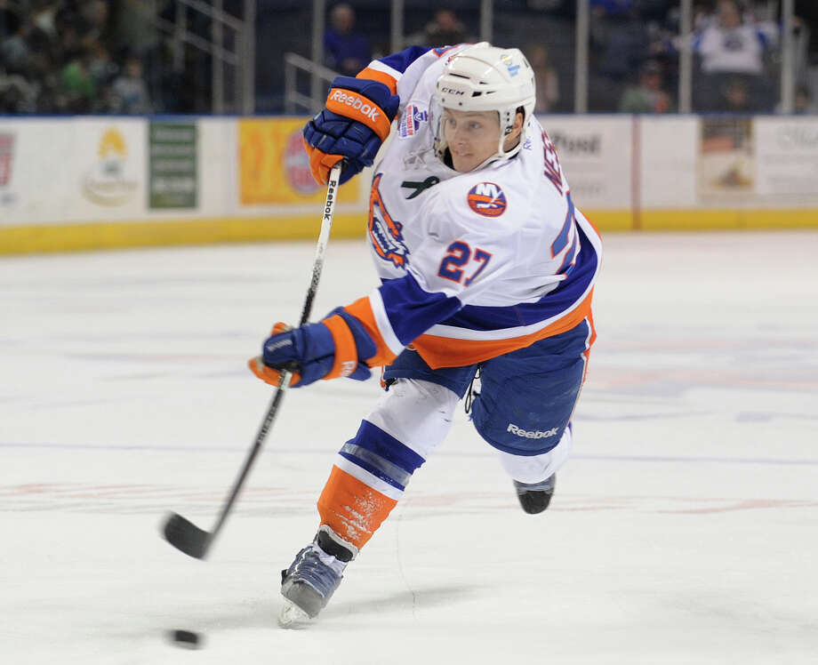 Saturday and Sunday: Bridgeport Sound Tigers play the Springfield Falcons at 7 p.m. Saturday and the Albany Devils at 3 p.m. Sunday at Webster Bank Arena in Bridgeport. Photo: Brian A. Pounds / Connecticut Post