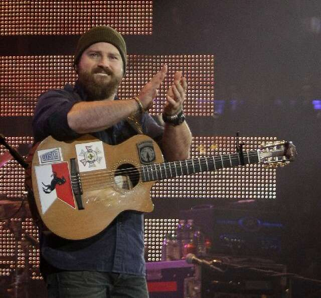 ZAC BROWN BAND: Brown doesn't say much between songs, likely because he doesn