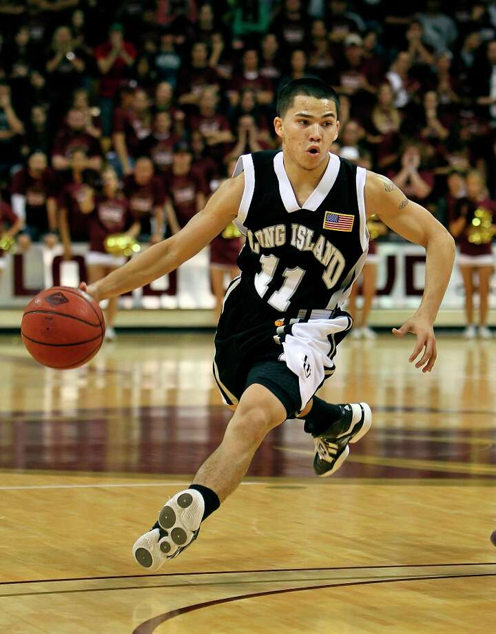 Clark graduate Jason Brickman - LIU-Brooklyn Photo: KIN MAN HUI, SAN ANTONIO EXPRESS-NEWS / kmhui@express-news.net