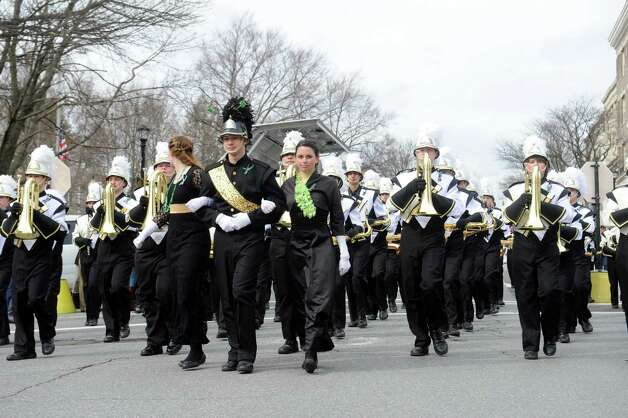 The GreenwichâÄôs 39th annual St. PatrickâÄôs Day parade at Greenwich Avenue, in Greenwich, Conn., March 17, 2013. Photo: Helen Neafsey / Greenwich Time