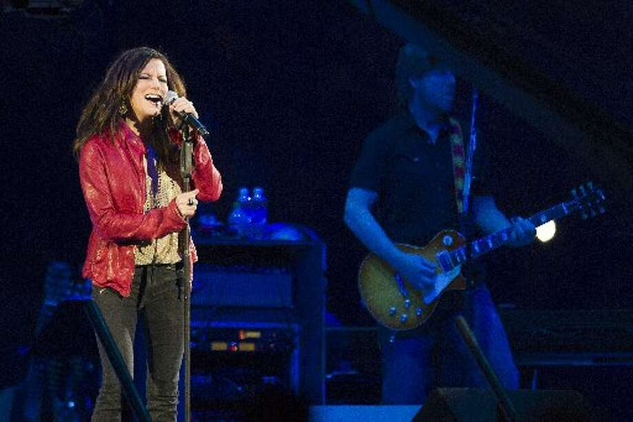 Martina McBride performs her set at Reliant Stadium during the final concert at the Houston Livestock Show and Rodeo Sunday, March 17, 2013, in Houston. ( Brett Coomer / Houston Chronicle )