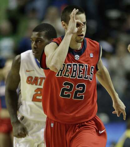 Mississippi guard Marshall Henderson was more than A-OK against Florida in the SEC championship game. He finished with 21 points and was named the tournament's MVP. Photo: John Bazemore / Associated Press