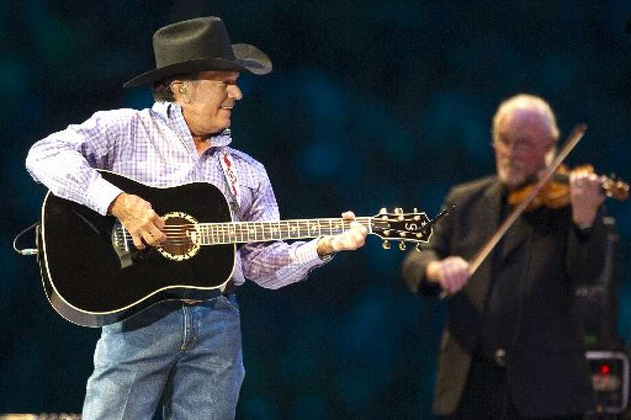 "As we anxiously await for the Houston Livestock Show and Rodeo to start, take a look at the wild ride we took with last year's acts.GEORGE STRAIT and MARTINA McBRIDE:: Onstage, all he needed was a black cowboy hat, a guitar and that million-dollar smile. ""Seems like yesterday it was 1983 over there in the old Astrodome. Lucky for me, Eddie Rabbit got sick,"" Strait quipped."