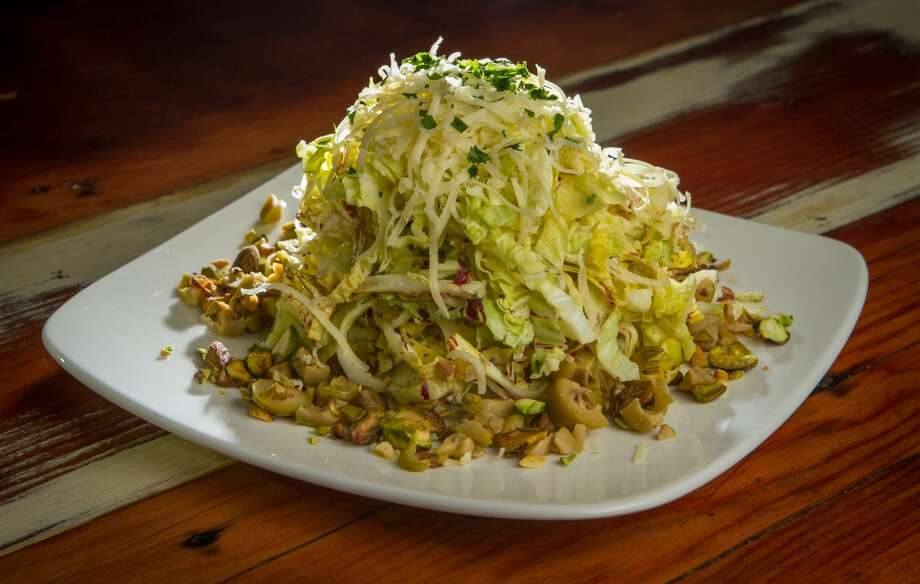 The Savoy Cabbage Salad at Duende.