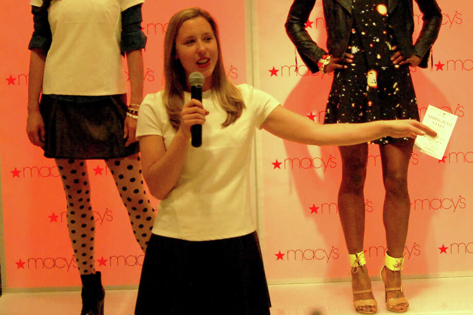 San Francisco Magazine style and design editor Lauren Murrow co-hosted the event at Macy's.