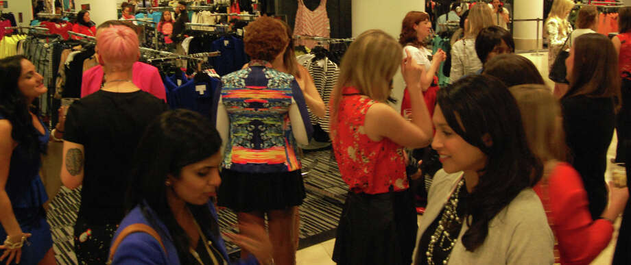 The launch of the partnership was celebrated at Macy's on Union Square, where local style bloggers wore pieces from the inaugural collection.