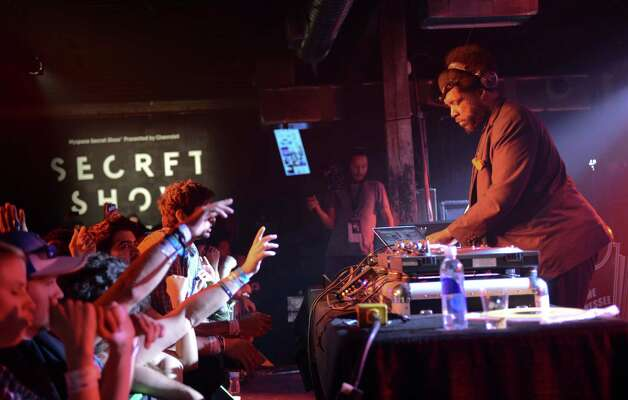 We thought Questlove was a drummer? Apparently, the Roots star can DJ too. Photo: Jason Kempin, Getty Images For Myspace / 2013 Getty Images