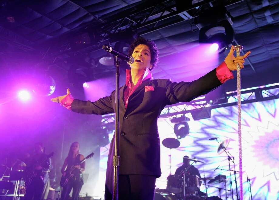 Yes, this is Prince at SXSW. Photo: John Sciulli, Getty Images For Samsung / 2013 Getty Images