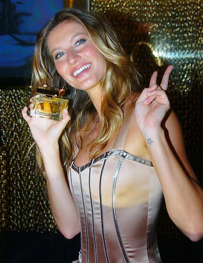 Tiny stars are popular among the Hollywood set. Gisele Bundchen has one on her wrist.