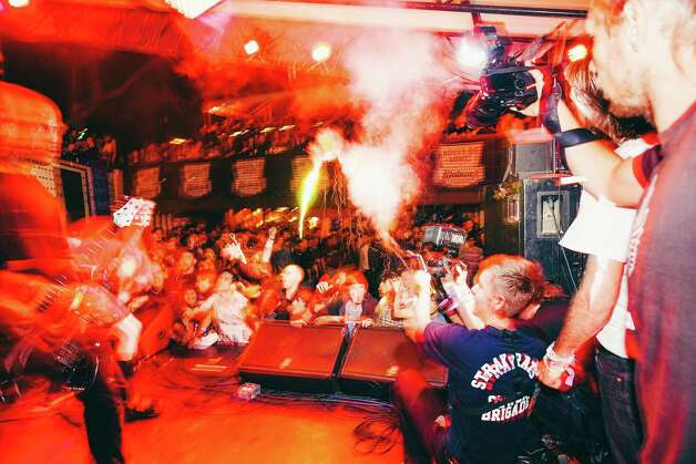 Trash Talk (literally) went off like fireworks.  Photo: Butchershop Creative
