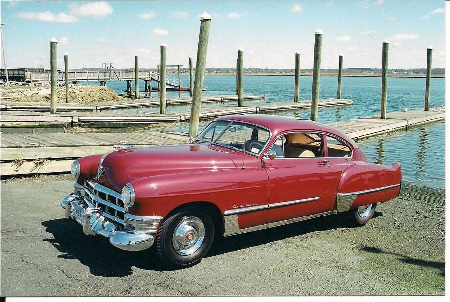 A 1949 Cadillac 2-door Sedanette, owned by Andrew Benenson of Darien. The SM&NC Center is putting out a call for classic cars for its 10th Annual Model Ts to Mustangs show on Saturday, May 8.