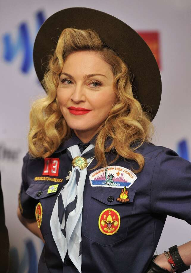 Madonna attends the 24th Annual GLAAD Media Awards on March 16, 2013 in New York City. Photo: Larry Busacca, Getty Images For GLAAD / 2013 Getty Images