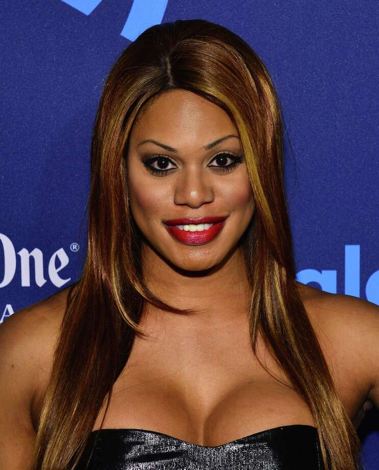 Laverne Cox attends the 24th Annual GLAAD Media Awards on March 16, 2013 in New York City. Photo: Larry Busacca, Getty Images For GLAAD / 2013 Getty Images
