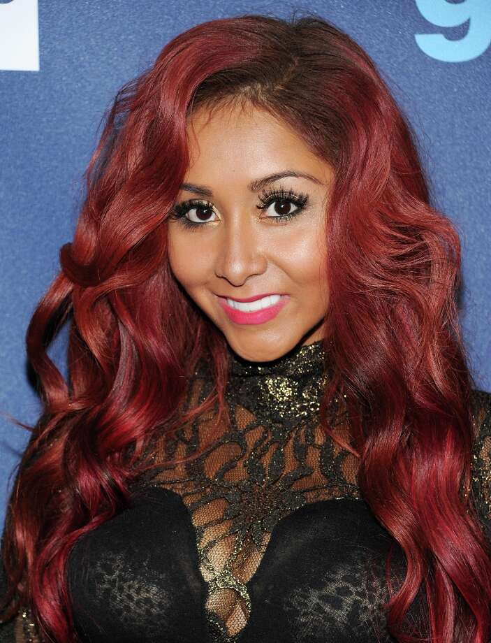 Television personality Nicole Snooki Polizzi attends the 24th Annual GLAAD Media Awards at the Marriott Marquis on Saturday March 16, 2013 in New York. (Photo by Evan Agostini/Invision/AP) Photo: Evan Agostini, Associated Press / Invision