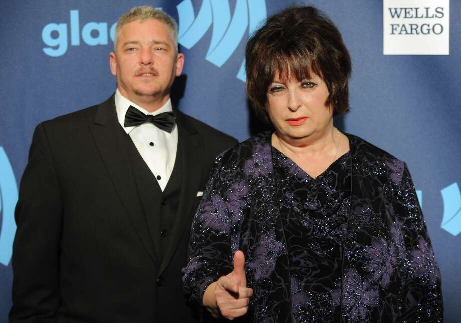 Nominees Joan Koplan, right, and Dennis Croft from the television show Small Town Security attend the 24th Annual GLAAD Media Awards at the Marriott Marquis on Saturday March 16, 2013 in New York. (Photo by Evan Agostini/Invision/AP) Photo: Evan Agostini, Associated Press / Invision