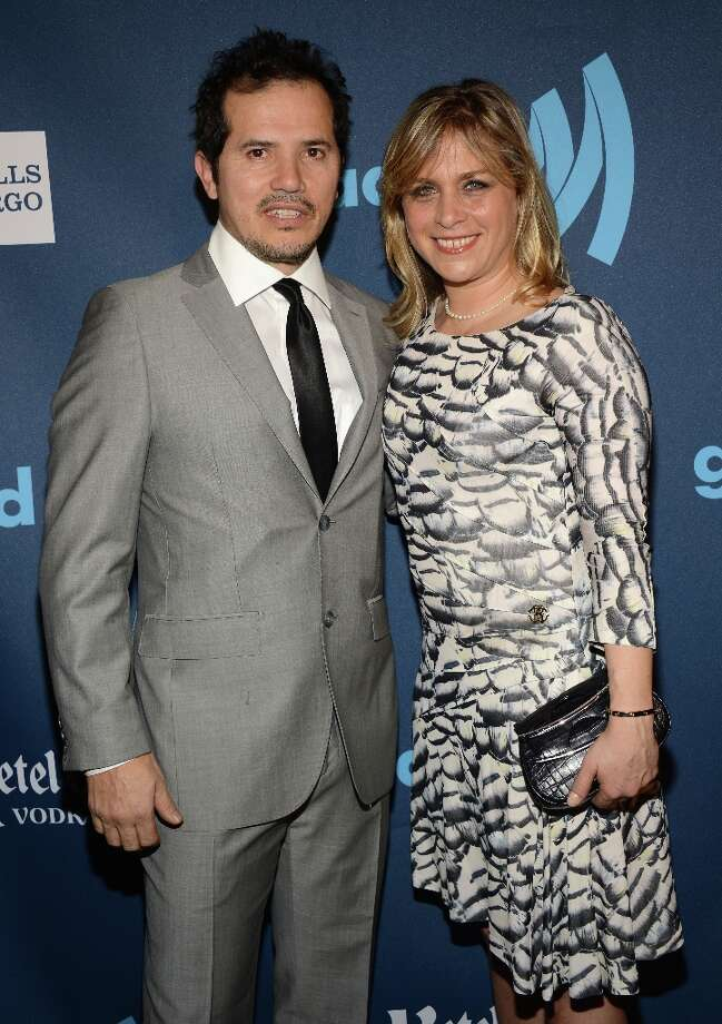Actor John Leguizamo and Justine Maurer attend the 24th Annual GLAAD Media Awards on March 16, 2013 in New York City. Photo: Jamie McCarthy, Getty Images For GLAAD / 2013 Getty Images