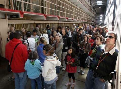 Alcatraz is now a popular tourist attraction attracting thousands of visitors a year. Photo: Paul Chinn, The Chronicle
