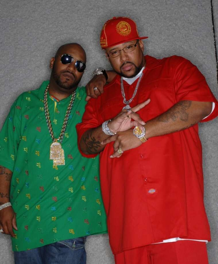"Chad ""Pimp C"" Butler and Bernard ""Bun B"" Freeman of UGK.  Photo: Museum Of The Gulf Coast"