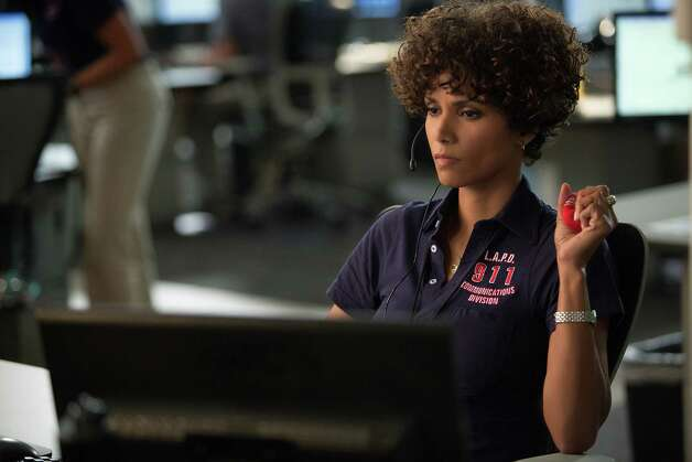 "Halle Berry in ""The Call,"" a sordid slice of abduction porn with a psycho villain. It's a movie that gives a whole new meaning to 911. Photo: Sony-TriStar Pictures"