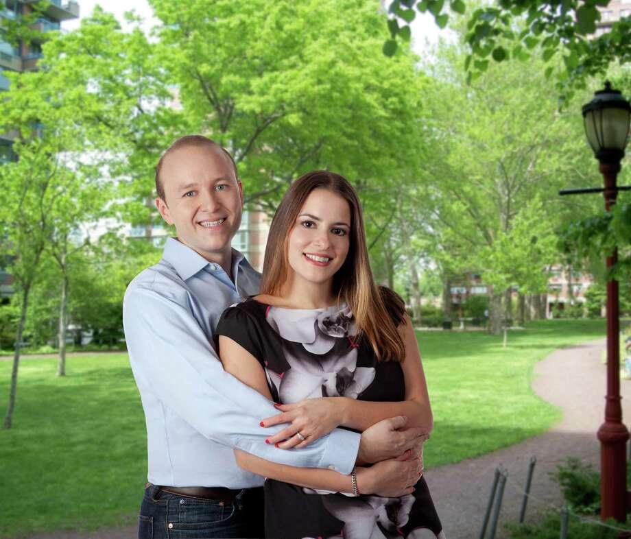 Patrick Michael Fleischman and Andrea Caroline Uva Photo: Contributed